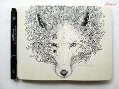 Znalezione obrazy dla zapytania rysunki długopisem