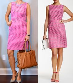 outfit post: pink sleeveless jacquard dot sheath dress, grey pointed toe pumps http://outfitposts.com/2016/09/outfit-post-pink-sleeveless-jacquard-dot-sheath-dress-grey-pointed-toe-pumps.html?utm_campaign=coschedule&utm_source=pinterest&utm_medium=Outfit%20Posts&utm_content=outfit%20post%3A%20pink%20sleeveless%20jacquard%20dot%20sheath%20dress%2C%20grey%20pointed%20toe%20pumps