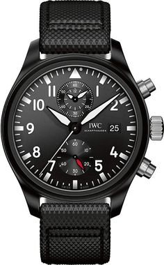 IWC IW389001 pilot top gun ceramic watch