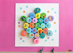 DIY Calendrier de l'avent pour petits et grands - DIY advent calendar - Madame Citron