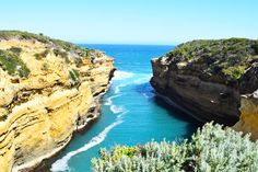 Loch and gorge, Great Ocean Road, Australia