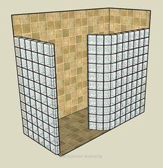 doorless showers bathroom designs with glass blocks | Glass Block Shower Kits us… doorless showers bathroom designs with glass blocks | Glass Block Shower Kits use tile not glass block with step in of 4''  http://www.wersdecor.website/2017/05/02/doorless-showers-bathroom-designs-with-glass-blocks-glass-block-shower-kits-us/