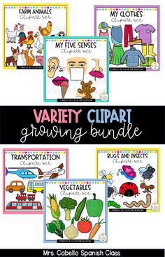 Looking for a good clipart deal? Grab this Variety Clipart Growing Bundle for $12 until 07/08. New sets will be added and the price will go up.  Sets scheduled to be added: 07/08 Weather and Clothes Clipart 07/09 Fruits, vegetables, snacks and beverages Clipart  07/10 Body and Senses Clipart 07/11 Animals and Insects Clipart  07/12 Community Clipart  07/13 Family and House Clipart   Clipart, TPT, Variety Clipart, Growing Bundle, Teachers