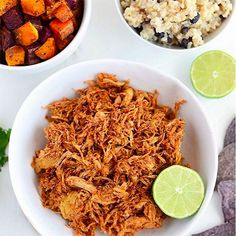 Meal prep masters know that shredded chicken is super versatitle