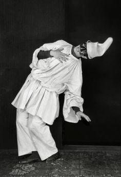 Emil Otto Hoppé :: Léonide Massine in 'Pulcinella', London, England, 1920 Monte Carlo, Jacques Callot, Erik Satie, New Objectivity, Ballet Russe, Jean Cocteau, Nureyev, Magic Realism, Harlem Renaissance