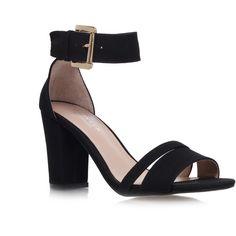 6485d2f641ca Carvela Kurt Geiger Carly Sandals ( 76) ❤ liked on Polyvore Strappy Block  Heel Sandals