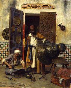 Maher Art Gallery: Rudolf Ernst / Austrian Orientalist artist
