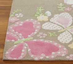Camille Rug | Pottery Barn Kids - LOVE!
