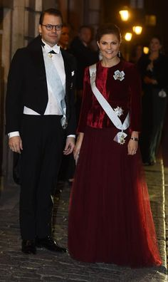 Sweden's Royal Family attended the Royal Swedish Academy's annual dinner gala at City Hall in Stockholm, Sweden on December 20, 2014
