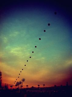 Took this of Balloon Art at Coachella 2011.   -Nothing like a Desert Sky by Christine McLaughlin