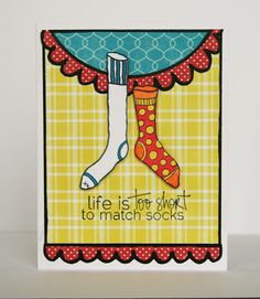 Matching Socks - Unity Stamps