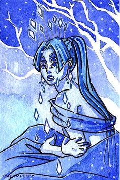 Ice Queen by creampuffy.deviantart.com on @DeviantArt