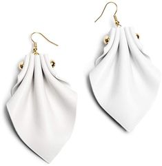 Ellia Wang - Aurora Earrings in White