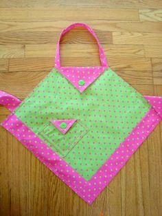 apron tutorial for little girls | patchwork posse