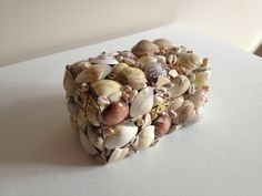 Beautiful DIY shell box!!!  Super cheap and easy to make!!!