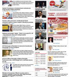 Sumario de la revista económica Capital.ro, una de las más importantes de Rumanía a nivel económico
