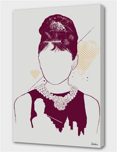 """""""Tiffany's"""", Numbered Edition Canvas Print by Koning - From $69.00 - Curioos"""