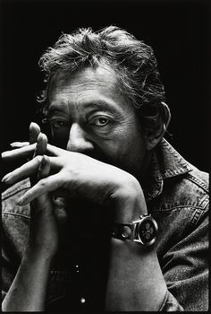 Serge Gainsbourg. Tres cool aussi .