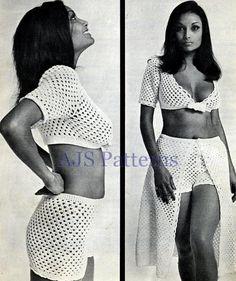 Retro Bolero Skirt