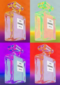 Andy Warhol -- I'm thinking we replace the Chanel with Rachel if we need some color somewhere