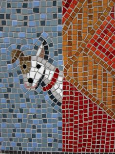 The Hoxton Varieties Mosaic from Spitalfields Life - designed by Teresa Hunkin