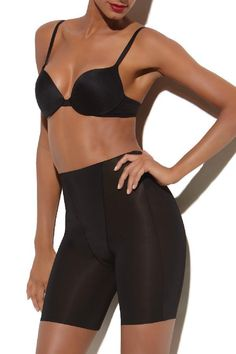 d54a1d9548783 Customized Feminine TruFigure Medium Control Mid-Thigh Shaper Shapewear