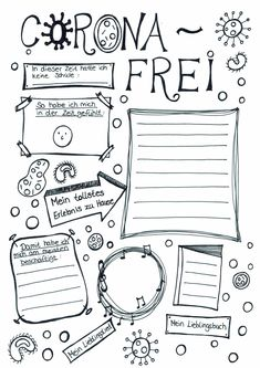 corona - This template documents the time of the children at home without school. It can be filled out weekl - Primary School, Elementary Schools, Kindergarten Portfolio, Visual Thinking, Home Schooling, Classroom Management, Art Education, Homeschool, Blog