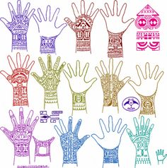 Marquesan Hand Tattoos by iowaintermedia, via Flickr