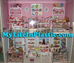 MyLifeInPlastic.com Doll Diorama Cabinets of Wonder | by MyLifeInPlastic.com Barbie Room, Barbie House, Michael Williams, Barbie Diorama, Barbie And Ken, Fashion Dolls, Cabinets, Brooklyn Apartment, Dollhouses