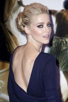 Amber Heard(アンバー・ハード) ふんわりとボリュームを持た...|MERY [メリー]