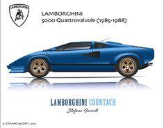 "Check out new work on my @Behance portfolio: ""Lamborghini Countach"" http://be.net/gallery/42434695/Lamborghini-Countach"