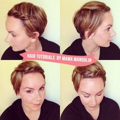 Since cutting my hair short over a year ago, I've had so much fun experimenting and learning how to style it. I'd never had pixie-short hai...