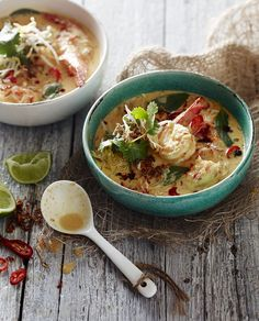 Quick Prawn Laksa - Pete Evans