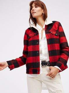 Cherry Bomb Plaid Jacket from Free People!