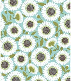 Blue and Green Crazy for Daisies (papersource)