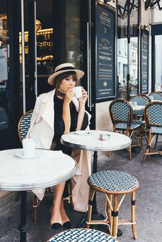 Boater Hat Parisian Girl | Jenny Cipoletti of Margo & Me