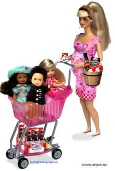 They should make a welfare abusing Barbie. Maybe it will let some of the welfare abusers see how trashy they are. Humor Barbie, Barbie Funny, Bad Barbie, Barbie And Ken, Barbie Dream, Starwars, Funny Emails, Redneck Woman, Office Jokes