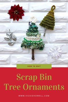 Scrap Bin Tree Ornam