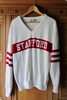 VINTAGE STANFORD UNIVERSITY Knit Sweater-Men's XL RARE! IN EXCELLENT CONDITION!