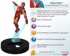 Iron Man #009 Marvel 10th Anniversary Heroclix Singles