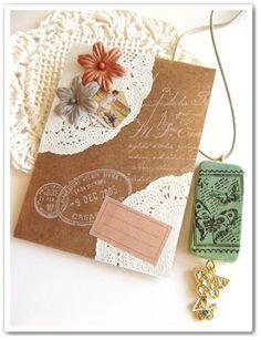 手作り封筒 crafts