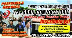 Noticias de Cúcuta: MAÑANA GRAN CONVOCATORIA ACADÉMICA EN EL CTC JÓVEN...