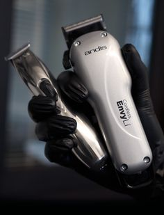 Meet the ultimate lightweight heavyhitters: the Cordless Envy Li Adjustable Blade Clipper breaks through bulk and the Slimline Pro Li T-Blade Trimmer gets down to the details. Andis Clippers, Hair Shaver, Hair And Beard Styles, Hair Removal, Barber Shop, Envy, Blade, Hair Beauty, Hair Accessories