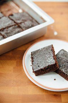 Recipe: One-Dish Chocolate Cake   Kitchn
