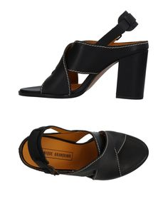 Veronique Branquinho Women Sandals on YOOX. The best online selection of Sandals Veronique Branquinho. YOOX exclusive items of Italian and international designers - Secure payments Veronique Branquinho, Shoes Sandals, Heels, Soft Leather, Heeled Mules, Footwear, Shopping, Black, Women