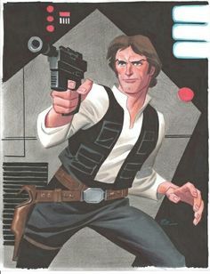 Han Solo - Bruce Timm