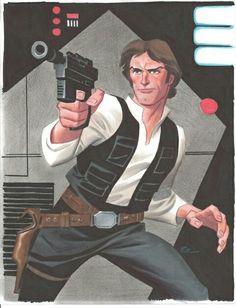 Han Solo - Bruce Timm