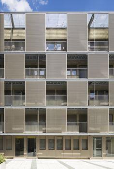 Square Vitruve by Atelier du Pont / 7 Square Vitruve, 75020 Paris, France