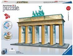 bol.com   Ravensburger 3D Puzzel - Brandenburger Tor,Ravensburger   Speelgoed