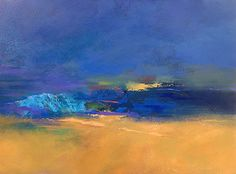 Midnight Tide by Kimberlee Maselli, Acrylic